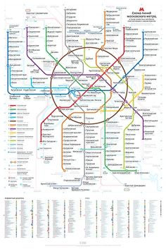 New Metro Map Puts Moscow Back on Track