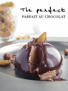Parfait au chocolat Lime Cream, Pudding, Desserts, Food, Tailgate Desserts, Deserts, Custard Pudding, Essen, Puddings