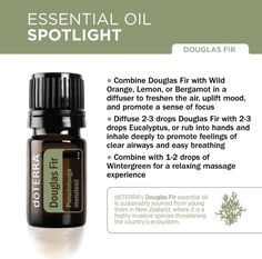 doTERRA Douglas Fir Essential Oil Spotlight