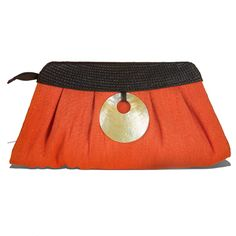 Princess in Tangerine ₱ 1,050.42  Jute cloth with Buntal diamond weave and Mother of Pearl shell. 6.5″ x 14.5″ x 4.5″  3pcs = MOQ or Minimum Order Quantity  Product link: http://www.our7107islands.com/product/princess-in-tangerine/  #livefair #lifthumanity #philippineartisans #our7107islands #wearFilipino #lovewithacause #philippines #handmade #handicrafts #bags #accessories #clutches