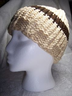 Still trying to make a proper hat w/my Knifty Knitter
