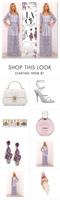 """""""DesirVale 25"""" by anyasdesigns ❤ liked on Polyvore featuring Dolce&Gabbana, Ralph & Russo, Smith & Cult, Chanel and Maybelline"""