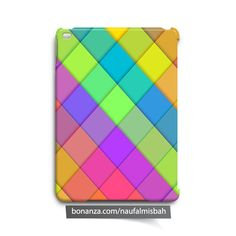 Colorful Rhombuses iPad Air Mini 2 3 4 Case Cover Geometric