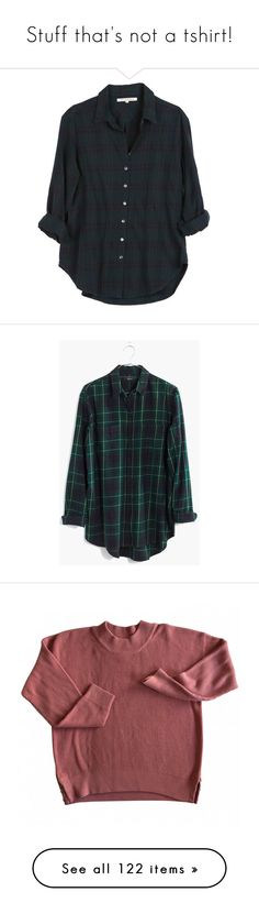 """""""Stuff that's not a tshirt!"""" by my-smolbeans ❤ liked on Polyvore featuring tops, shirts, blouses, flannels, tartan top, flannel tops, oversized flannel shirt, plaid flannel shirt, shirt top and plaid"""