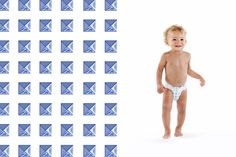 Honest Diapers in Cobalt Studs, collaboration with Rebecca Minkoff. #RMxHonest #LimitedEdition
