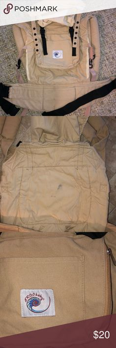 e58251173a4 Ergo baby carrier Tan ! Small stain on the interior - see photo Light  fading from being washed ! ergo baby Accessories