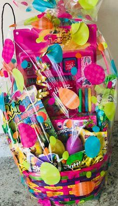 Unique Easter Basket Ideas for Kids – Crafty Morning Homemade Easter Baskets, Filled Easter Baskets, Easter Gift Baskets, Girl Gift Baskets, Holiday Baskets, Easter Crafts For Kids, Disney Diy, Basket Ideas, Fun Diy