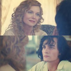 """Rupert Friend and Michelle Pfeiffer portray the characters of Fred """"Cheri"""" Peloux and Lea de Lonval respectively in the movie """"Cheri""""......."""