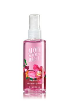 ALOHA WATERFALL ORCHID TRAVEL SIZE FINE FRAGRANCE MIST - Signature Collection - Bath & Body Works