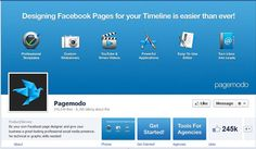 Pagemodo. Easy to use tabs for your business page. The first one is free.