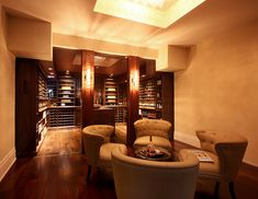 Transitional Wine Cellar by Papro Consulting 8
