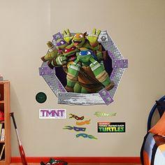 Teenage Mutant Ninja Turtles Leo Giant Wallpaper Sticker Decal. Fathead  Nickelodeon ...