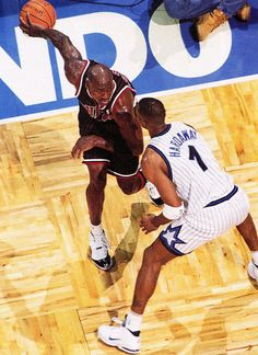 c9d746bbb91 Michael Jordan and Anfernee Hardaway - Orlando Magic