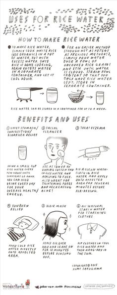 6 Unexpected Beauty, Health, & Home Uses for Rice Water « The Secret…