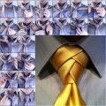 How to Tie a Unique Necktie Knot DIY Tutorial thumb