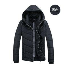 Black Polyester fibre Coat $ 23.40
