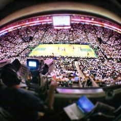 ABC cam view of Game 7 at TD Garden