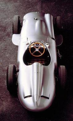 El W196 de Juan Manuel Fangio