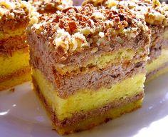kolac sa orasima Croatian Cuisine, Bosnian Recipes, Tray Bakes, Cake Cookies, Vanilla Cake, Sweet Recipes, Banana Bread, Sandwiches, Good Food