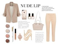 """""""Untitled #11"""" by peanutpeach ❤ liked on Polyvore featuring beauty, River Island, Michael Kors, Charlotte Russe, Bobbi Brown Cosmetics, Olivia Burton, Terre Mère, Casetify and ncLA"""