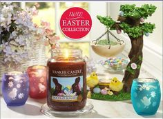 Dress up any room in style with our beautiful, hand painted candle accessories in our exclusive Easter Collection.