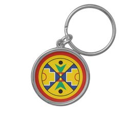 Micmac Keychain Flag Seal  Eel Ground Band First Nation Nations  Mikmaq indians Migmaq