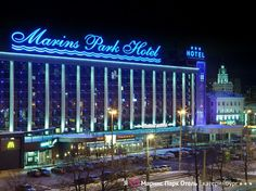 Yekaterinburg Marins Park Hotel Russia, Europe Ideally located in the prime touristic area of Zheleznodorozhny, Marins Park Hotel promises a relaxing and wonderful visit. Both business travelers and tourists can enjoy the hotel's facilities and services. All the necessary facilities, including free Wi-Fi in all rooms, 24-hour security, daily housekeeping, gift/souvenir shop, photocopying, are at hand. Guestrooms are fitted with all the amenities you need for a good night's sle...