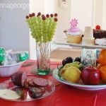 grape caterpillar skewers and other party tips