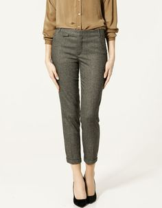 I'd really like a pair of tweed trousers.