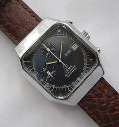 Yema Sous Marine Automatic Ref 903057 Vintage Diver Chronograph Valjoux 7754 | eBay