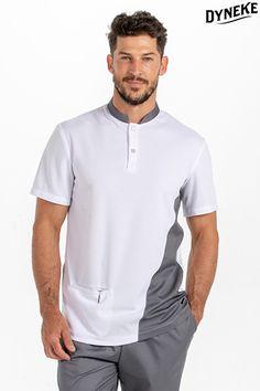 Scrubs Uniform, Men In Uniform, Dental Uniforms, Balmain Men, Corporate Wear, African Shirts, Big Men Fashion, Medical Scrubs, Workwear Fashion