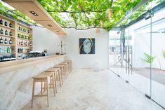 arquitectos en las instalaciones de la marca añade un toque italiano al restaurante de Sudáfrica
