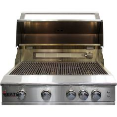 """Heat 40"""" 5-Burner HTS-540-NG Gas Built-in Grill"""