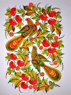 петрикоская роспись