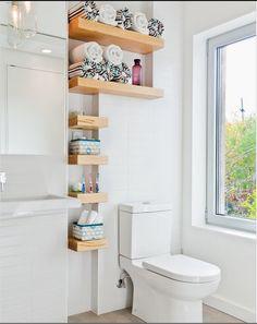 repisas en baños pequeños - Buscar con Google