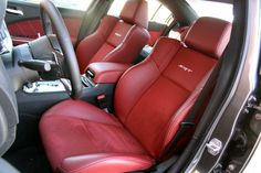 2012 Dodge Charger SRT8 FrontSeats img11