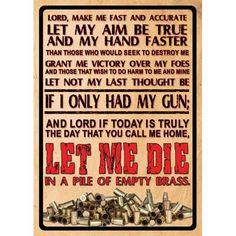 """12"""" x 17"""" Tin Sign - Lord's Prayer"""