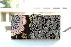 Women's Wallet   Handmade wallet in brown with by happykathy, $49.00