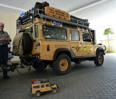 'Camilla' Camel Trohy Defender 110 | by Land Rover Palm Beach