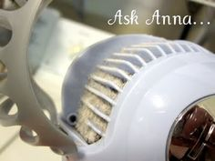 A Hair Dryer Trick...how to clean your hair dryer.