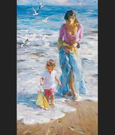 "Garmash - ""Precious Moment"" Painting"