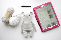 "202 Likes, 13 Comments - Shelfiehugs...crochet animals (@shelfiehugs) on Instagram: ""Loved making my Paulchen by @libou.me ...my schoolgirl German came in useful!! #softie #amigurumi…"""