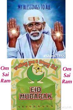"Wishing everyone a Happy Eid ❤️ JAI SRI RAM ❤️ ""Bow to Shri Sai & Peace Be to all""  #sairam #shirdi #saibaba #saideva #shirdisaibaba #ShirdiSBSS Please share; FB: www.fb.com/ShirdiSBSS Twitter: https://twitter.com/shirdisbss Blog: http://ssbshraddhasaburi.blogspot.com/ G+: https://plus.google.com/100079055901849941375/posts Pinterest: www.pinterest.com/shirdisaibaba"
