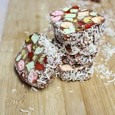 Marshmallow no-bake Chocolate Roll, easy as 1 2 3!