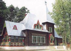 Дом архитектора Ф.Шехтеля Теремок.  russian house