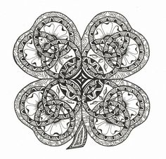 Celtic Knot Doodle 1 by Judy's Creative Doodling, via Flickr