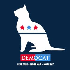 "This funny election t-shirt, ""Democat,"" is the perfect political humor tee for the 2016 election. It's a political satire t-shirt that can be enjoyed by democrats, republicans, and everyone in between"