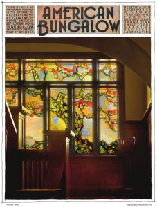 American Bungalow is a quarterly magazine dedicated to homes of the early 20th century, the philosophy of the Arts and Crafts movement and the bungalow lifestyle.