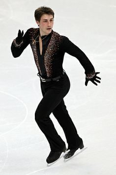 VANCOUVER, BC - FEBRUARY 16: Brian Joubert of France competes in the men's figure skating short program on day 5 of the Vancouver 2010 Winter Olympics at the Pacific Coliseum on February 16, 2010 in Vancouver, Canada. (Photo by Matthew Stockman/Getty Images)