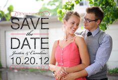 Another Save the Date option ($15 and $105 for 120.)